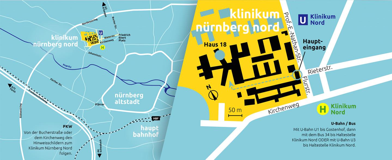 Nordstrahl Stadtplan